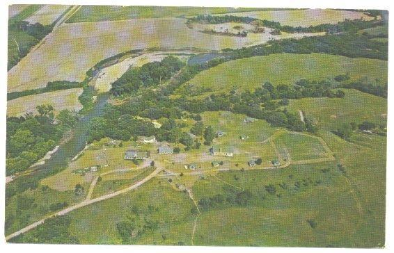 Vintage 1960s Postcard Camp Jefferson Fairbury Nebraska