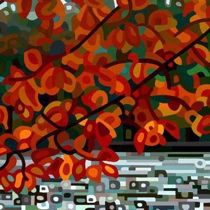 budanArt 8.5 x 11 Print - Maple Lake