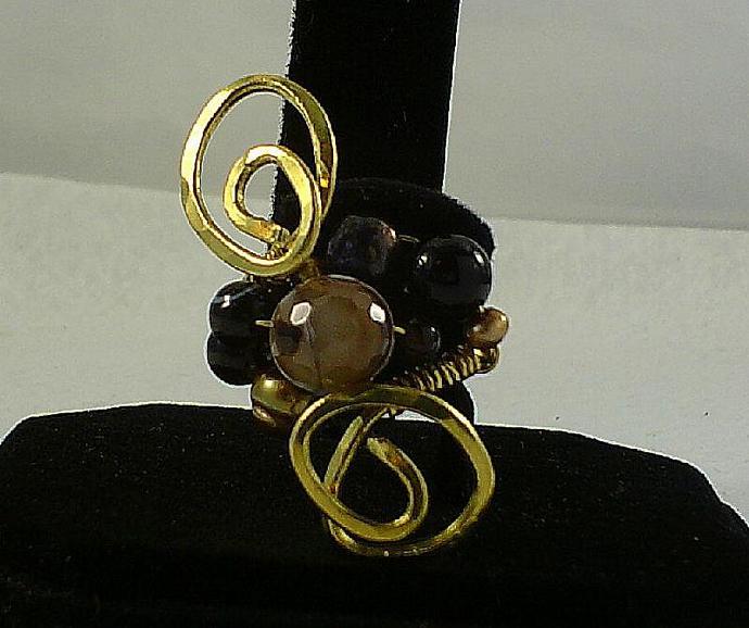 Brass and Onyx-Item # 0004