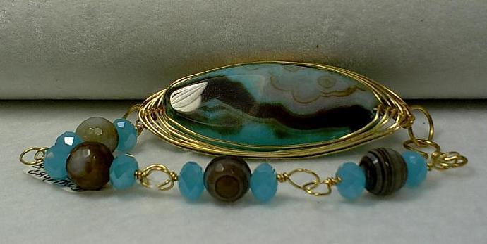 Agate Bracelet-Item # 0021