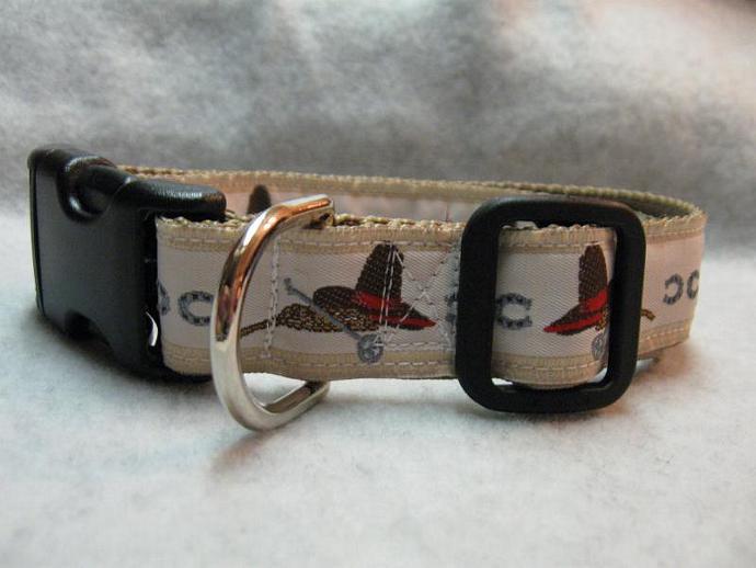 Wild West  1 Inch Designer  Collar