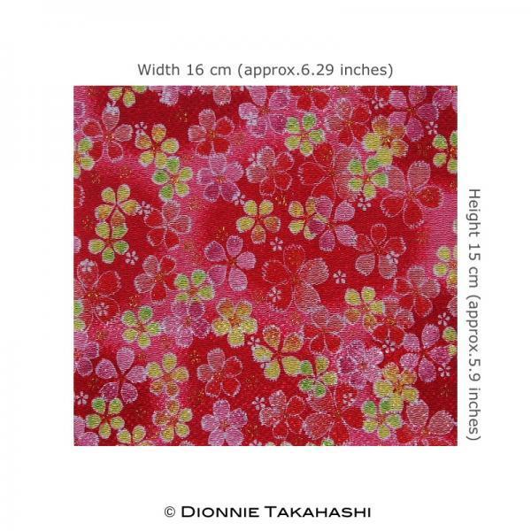 Japanese Chirimen Crepe Fabric Design DE-S03