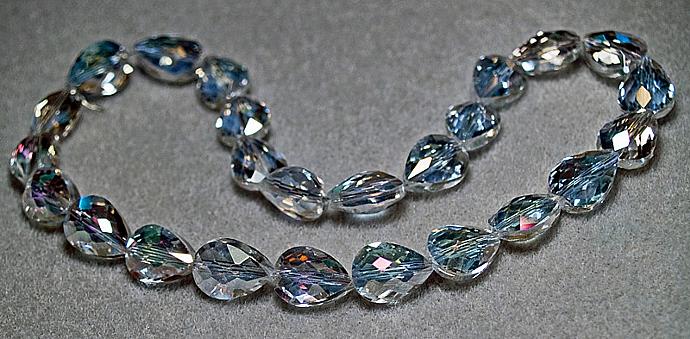 Crystal Tears- crystal teardrop beads