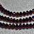 Majesty- crystal rondelle beads