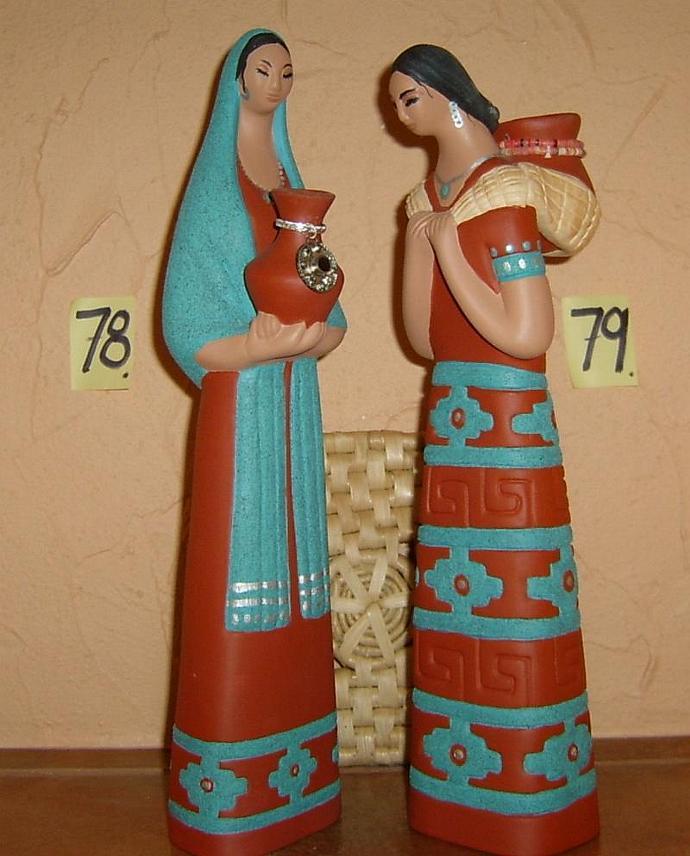 E-M-78 - HOPI WATER GIRL-shawl