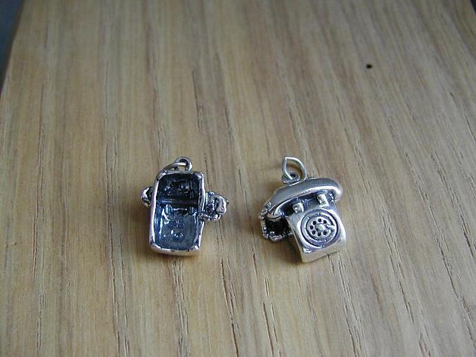 Rotary Phone SS Charm