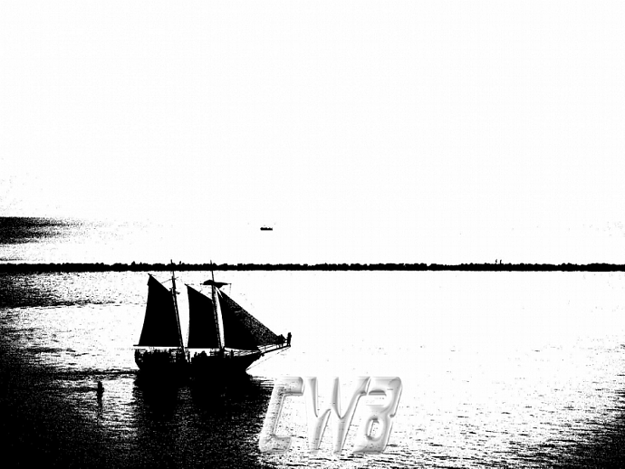 Sail On Gulf Coast art print