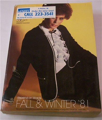 Vintage Montgomery Ward Fall & Winter Catalog 1980s Fashions