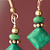 Copper and Turquoise Drop Earrings