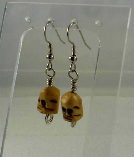 Scull Earrings-Item # 0054