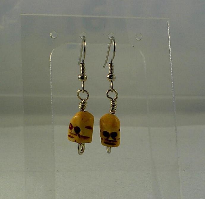 Scull Earrings-Item # 0054