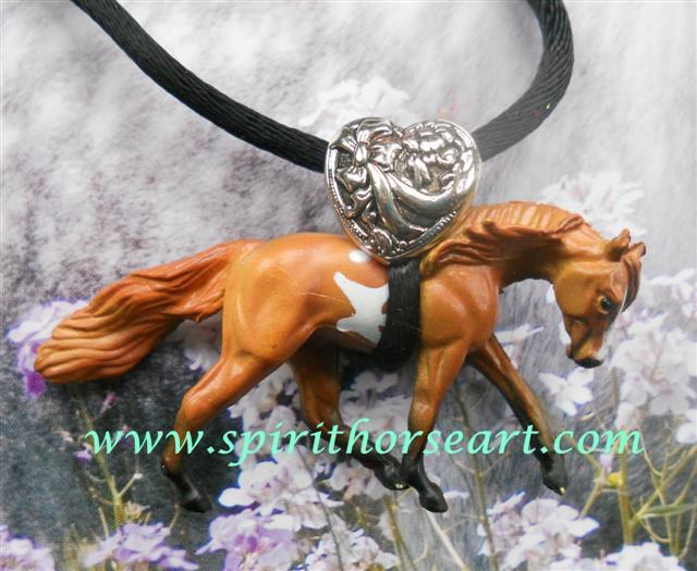 Pinto Pony Necklace I Love Horses!