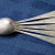 Sterling Silver Infant or Youth Spoon 1881 Victorian Antique Gorham Silver