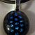 Blue Polka Dots - Dichroic Pendant