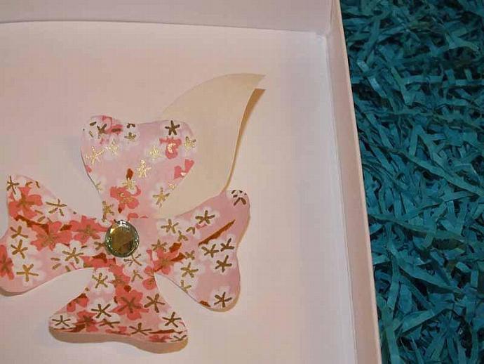 3d flower card