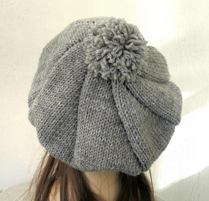 Knit Hat Pattern Hat Knitting Pattern By Fashionknitting On Zibbet