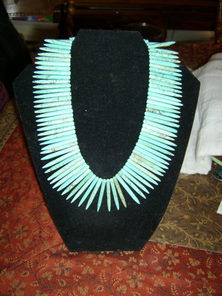 Dragontooth Turquoise Necklace