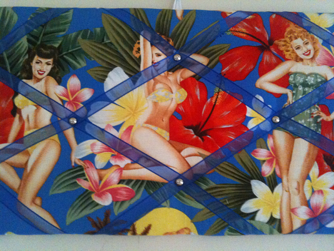 Pin Board/Notice Boards/Memo Board/Hawaiian Girls