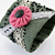 Army Green Embrodered Wrist CUFF