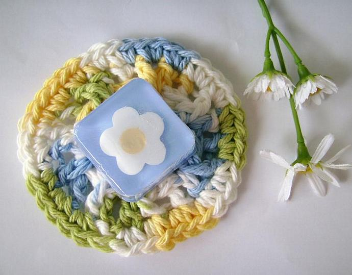 THREE Crocheted Mini Soap Dish Order