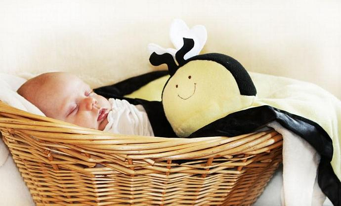 Bumble Bee Security Blanket, Lovey Blanket, Satin, Baby Blanket, Stuffed Animal,