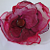 Orange Organza Flower Accessory