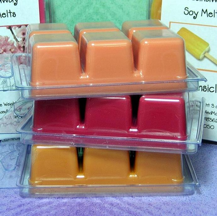 Lemon Pucker Breakaway Clamshell Soy Wax Tart Melts