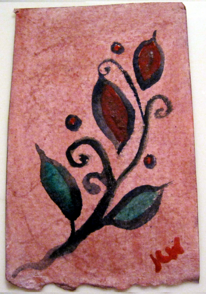 Red Flowers ACEO