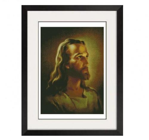 ALL STITCHES - JESUS CROSS STITCH PATTERN .PDF -300
