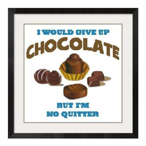 ALL STITCHES - CHOCOLATE CROSS STITCH PATTERN .PDF -559