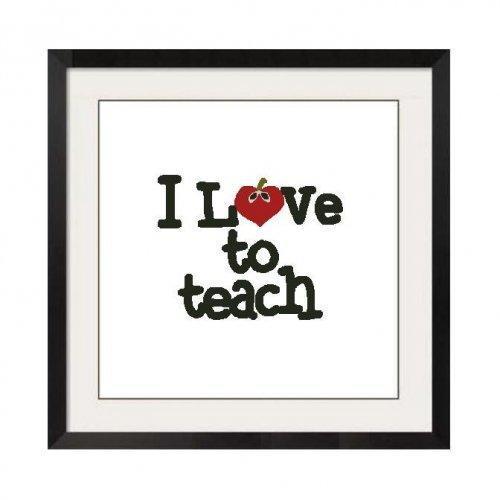ALL STITCHES - LOVE TO TEACH CROSS STITCH PATTERN .PDF -457