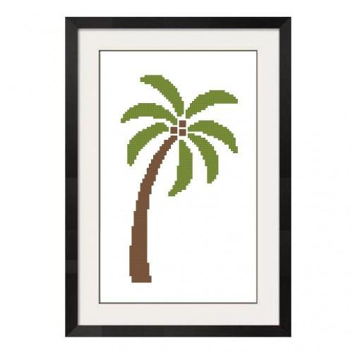 ALL STITCHES - PALM TREE CROSS STITCH PATTERN .PDF -269