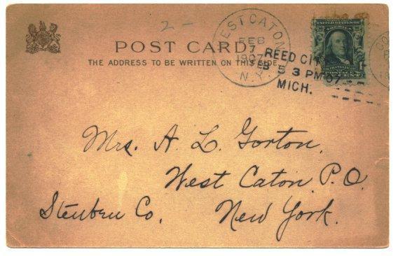 Vintage Tuck Valentine Postcard Girl Hat 1910s Artist Signed CURTIS