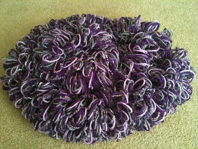 Shaggy Loop Nest Cloud - Purple Haze