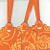 Stunning Shiney Orange Tags Set of 3