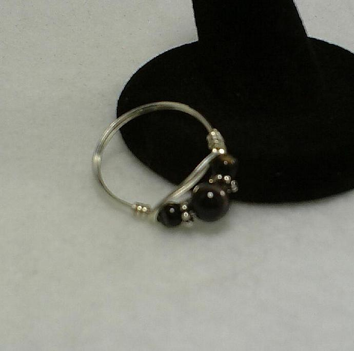 Sterling and Black Onyx-Item # 0072