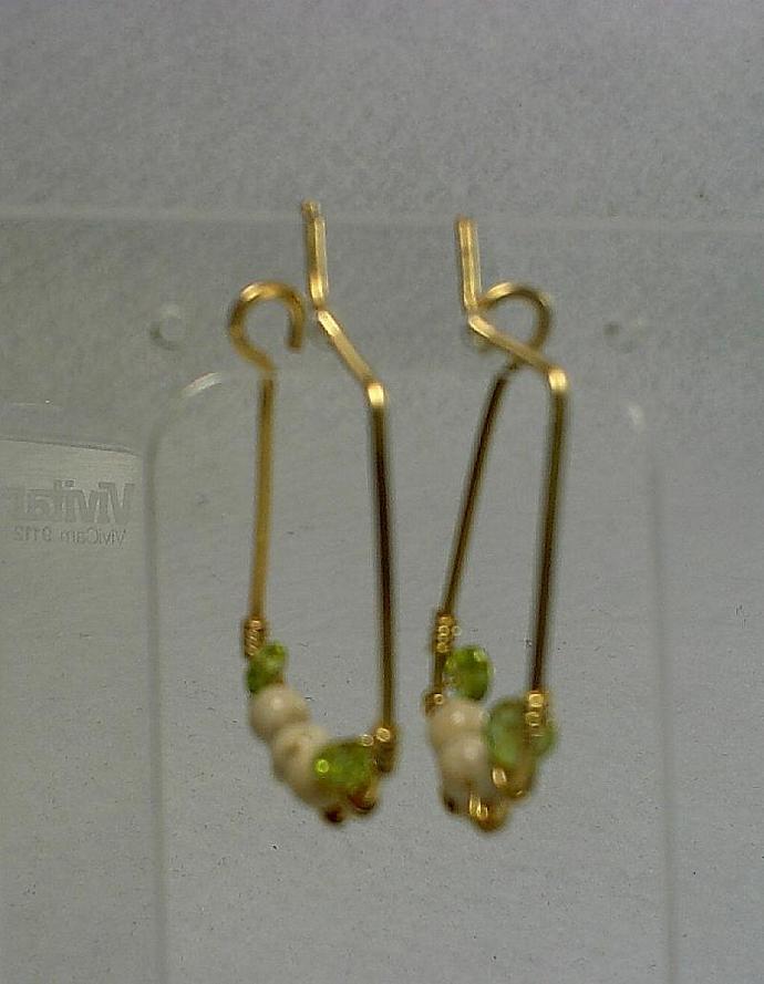Hoop Earrings-#0137