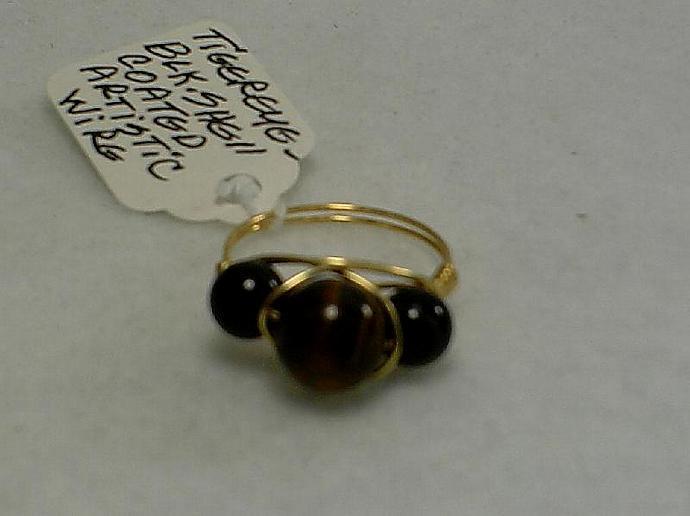 Tiger Eye Ring-Item # 0090