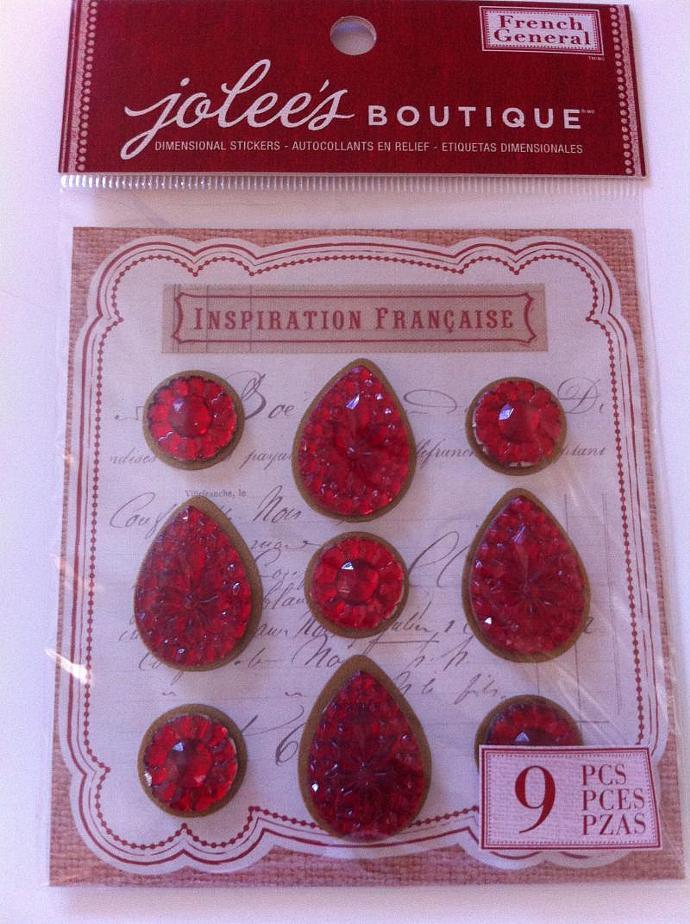 Jolees shaped gemstones