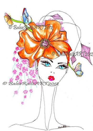 Hat Fashion Illustration Pdf Lorenabr