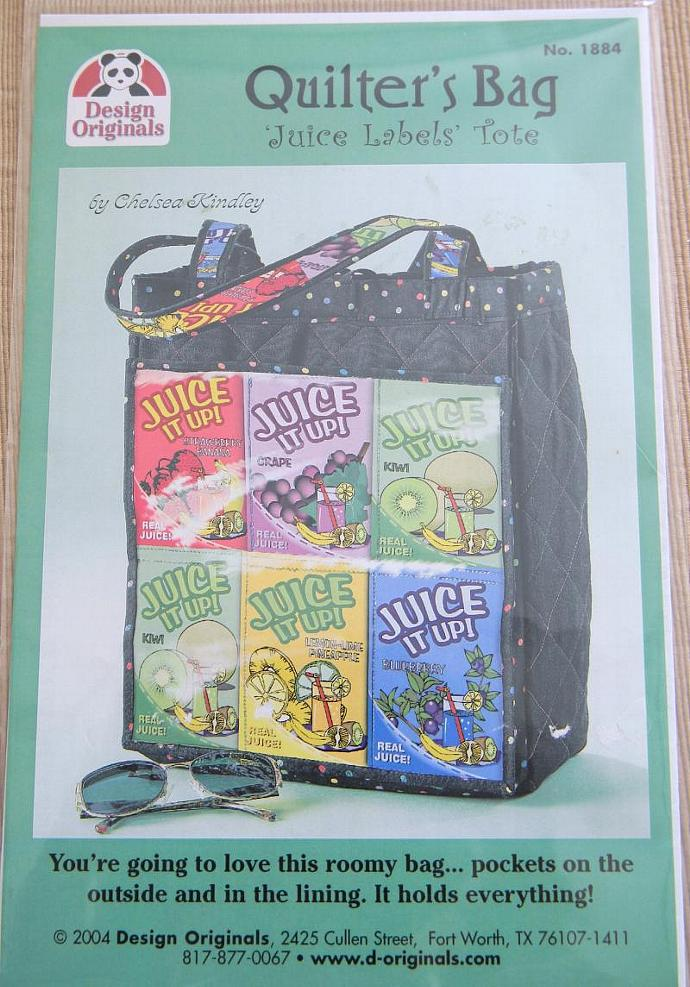 Juice Pouch Quilters Bag Pattern