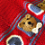 UN-BEAR-ABLY ADORABLE PATRIOTIC TEDDY BEAR AFGHAN