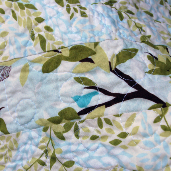 """""""In the Leafy Treetops"""" Quilt"""
