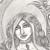 Prophetess Ignored, original drawing