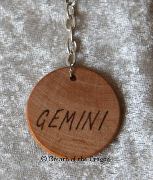 Zodiac keychain ~ Gemini