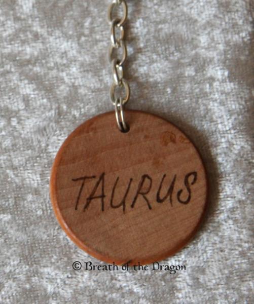 Zodiac keychain ~ Taurus