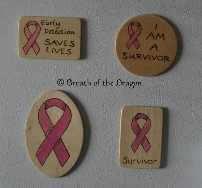 Survivor Pink Ribbon magnet