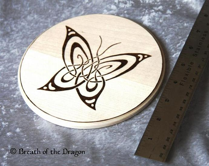 Tribal Butterfly plaque