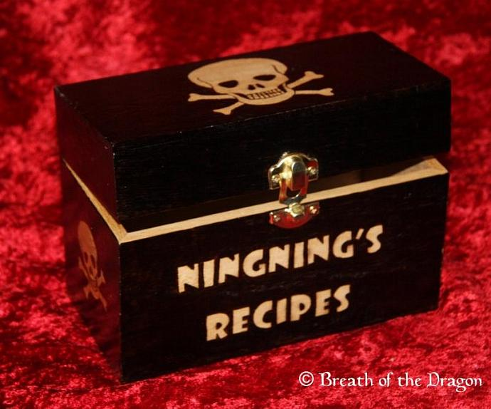 Customized Recipe Box
