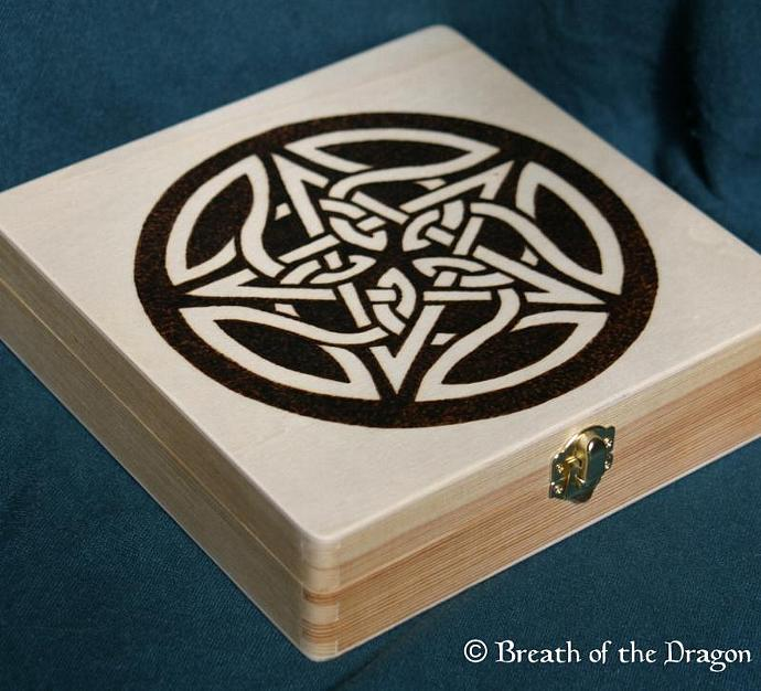 Celtic Pentacle box